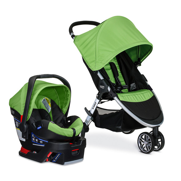 Britax B-Agile 3 Travel system with B-Safe 35 in Meadow-1