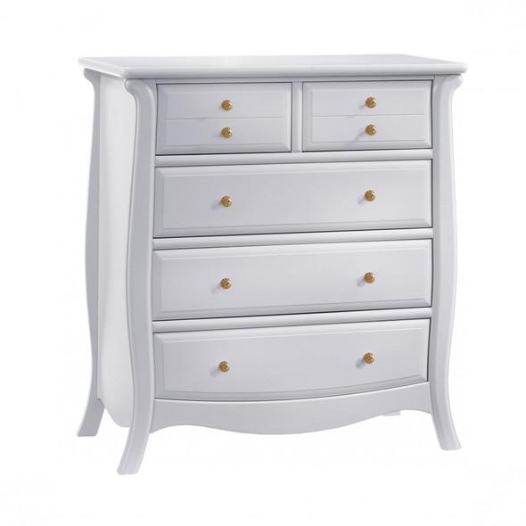 Natart Bella Gold Collection 5 Drawer Dresser