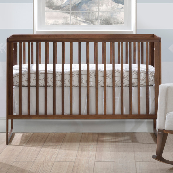 Tulip Rio Classic Crib in Walnut