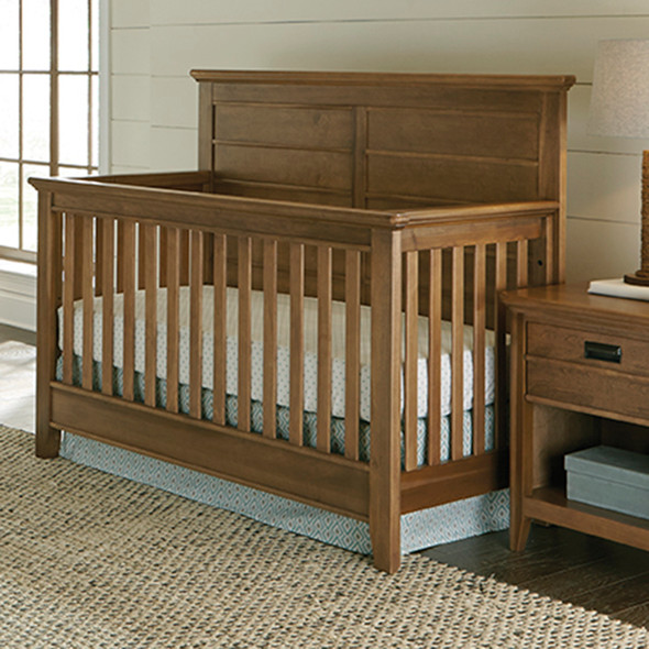 Brixy Oak Park Convertible Crib in Prairie