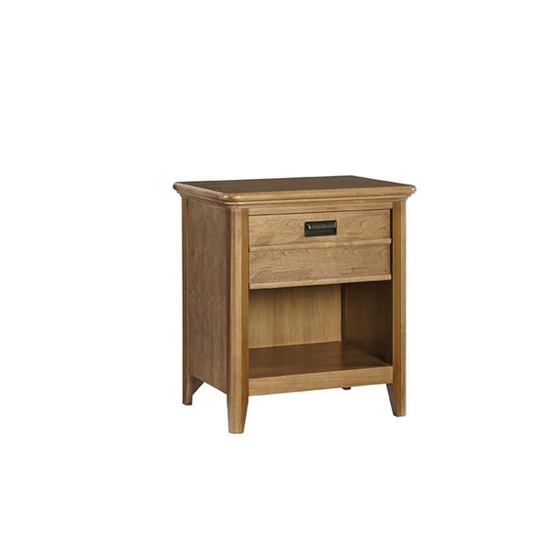 Brixy Oak Park 1 Drawer Nightstand in Prairie