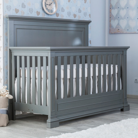 Silva Jackson Convertible Crib in Flint