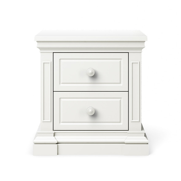 Silva Jackson Nightstand in White