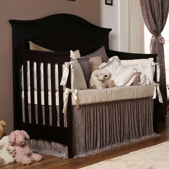 Silva Serena Convertible Crib in Cherry
