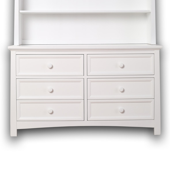 Silva Serena 6 Drawers Dresser in White