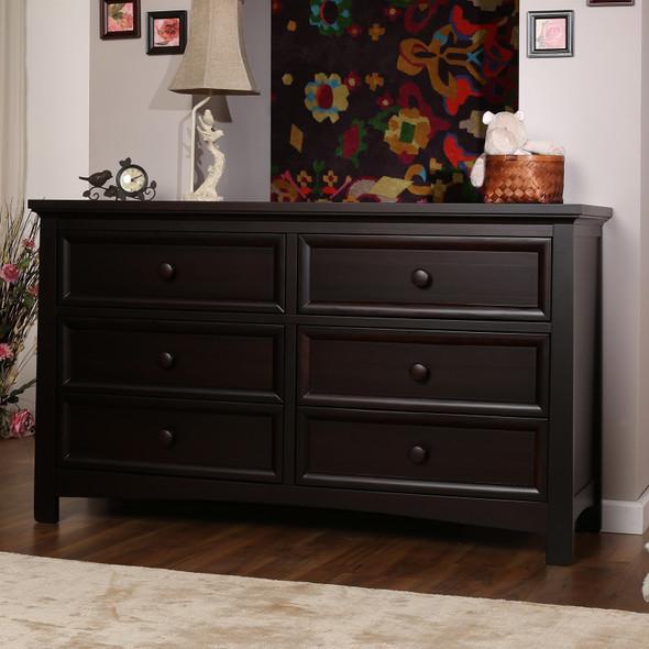 Silva Serena 6 Drawers Dresser in Cherry