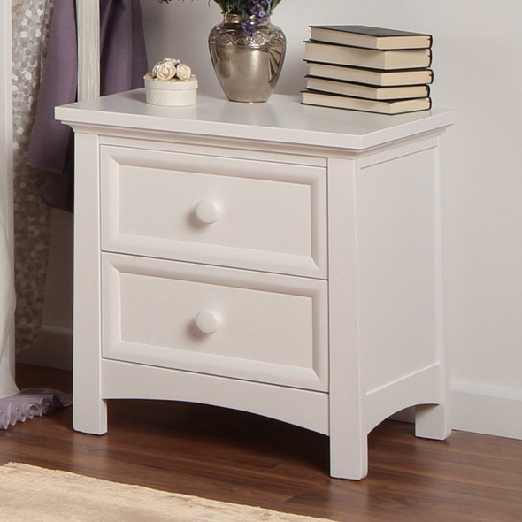 Silva Serena Nightstand in White