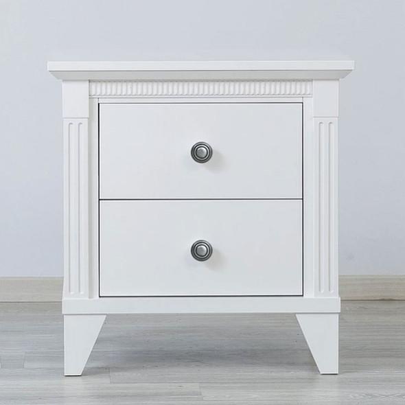 Silva Edison Nightstand in White