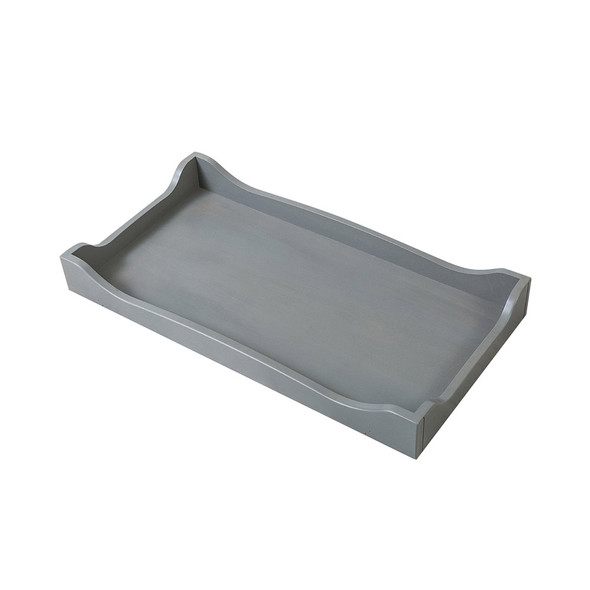 Silva Scalloped Changing Tray in Flint