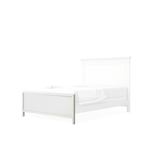 Silva Universal Low Profile Footboard in White