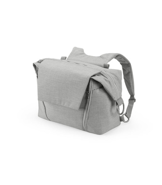 Stokke Changing Bag in Grey Melange-1