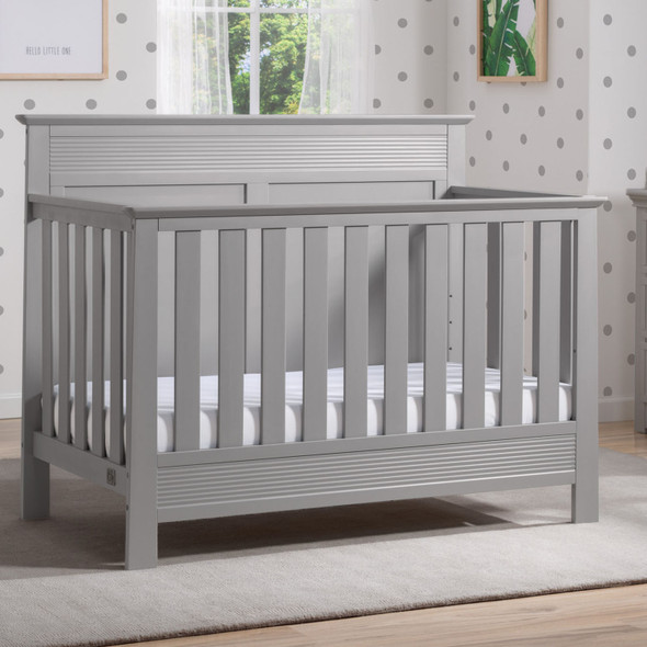 Serta Fall River Convertible Crib in Grey