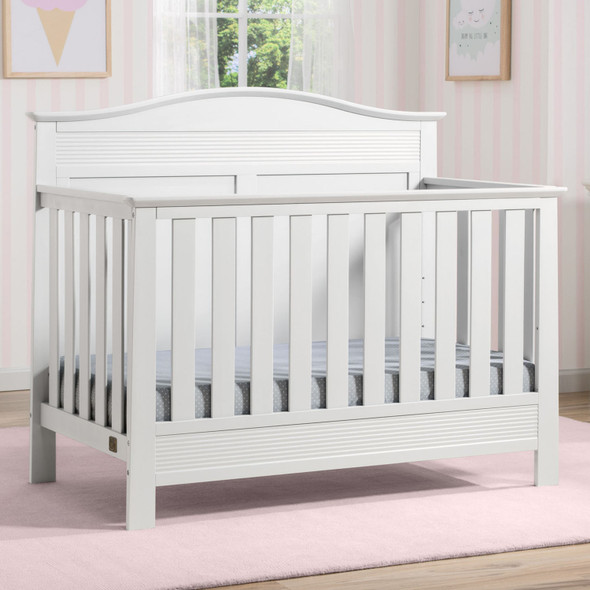 Serta Barrett Convertible Crib in Bianca