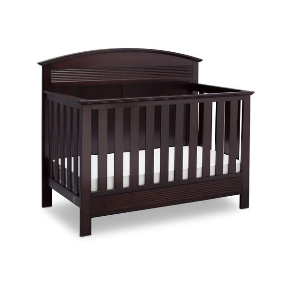 Serta Ashland Convertible Crib in Dark Chocolate
