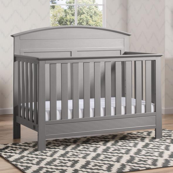 Serta Ashland Convertible Crib in Grey
