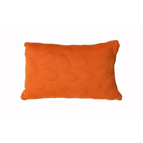 Nook Pebble Pillow Standard Size-Poppy