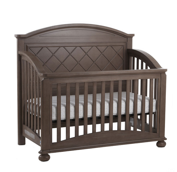 Pali Siracusa Forever Crib in Distressed Desert
