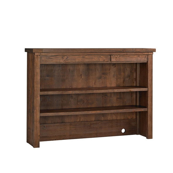 Dolce Babi Grado Hutch/Bookcase in Farmhouse Brown