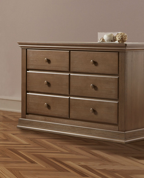 Pali Modena Collection Double Dresser in Distressed Desert
