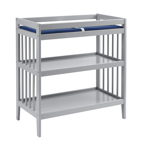 Westwood Echo Collection Changing Table with Pad in Fog
