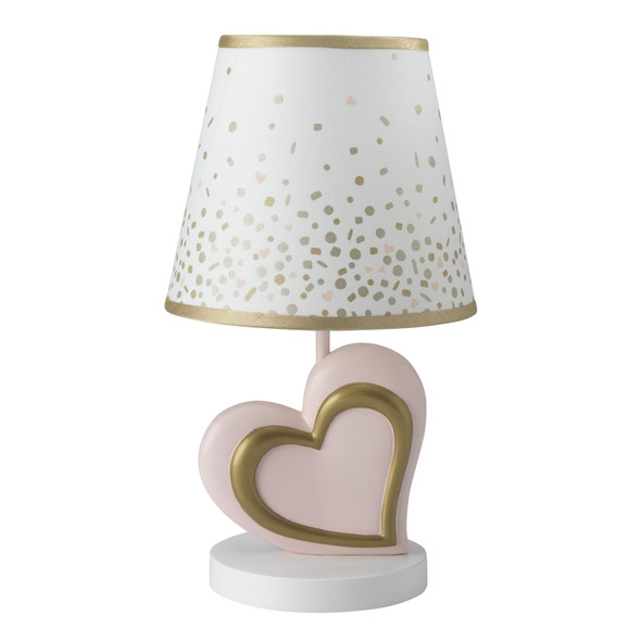 Lambs & Ivy Confetti Collection Lamp with Shade & Bulb