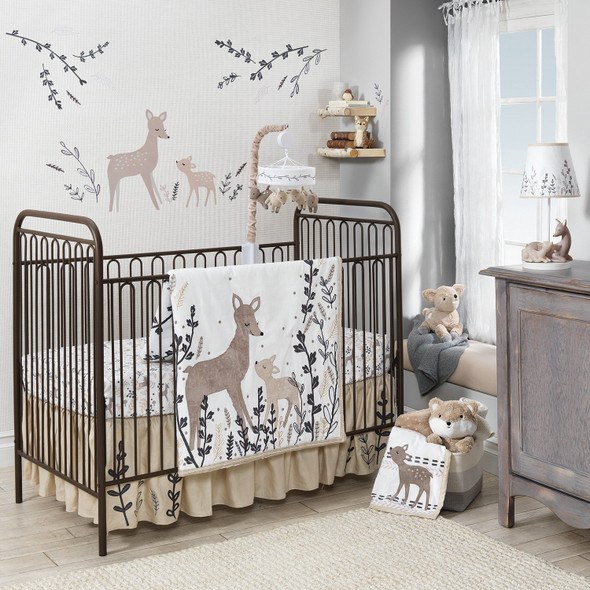 Lambs & Ivy Meadow Collection 3-Piece Bedding Set