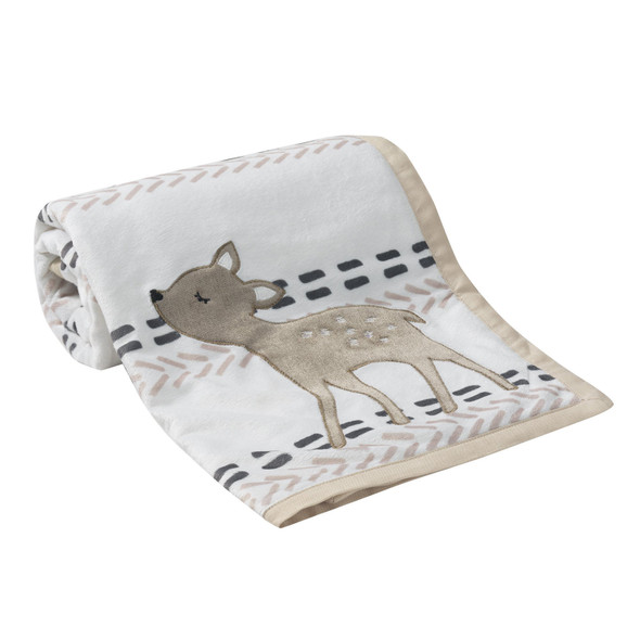Lambs & Ivy Meadow Collection Blanket