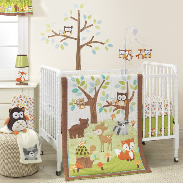 Bedtime Originals Friendly Forest Collection 3-Piece Bedding Set