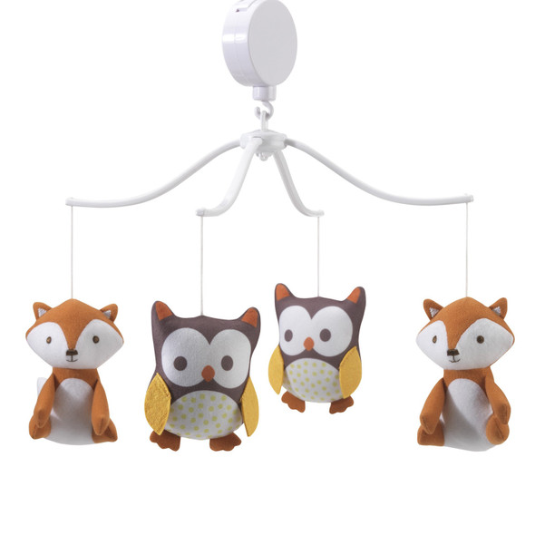 Bedtime Originals Friendly Forest Collection Musical Mobile