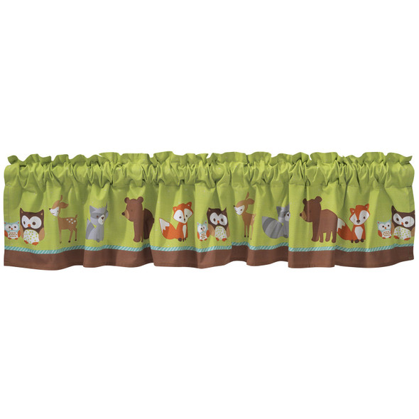 Bedtime Originals Friendly Forest Collection Window Valance