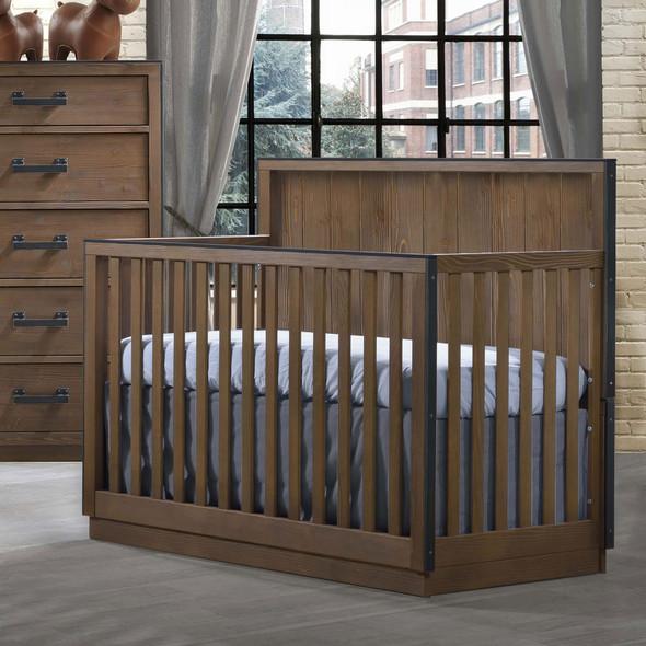 Natart Valencia Convertible Crib in Cognac
