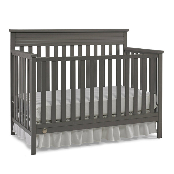 Fisher Price Newbury Convertible Crib in Stormy Grey