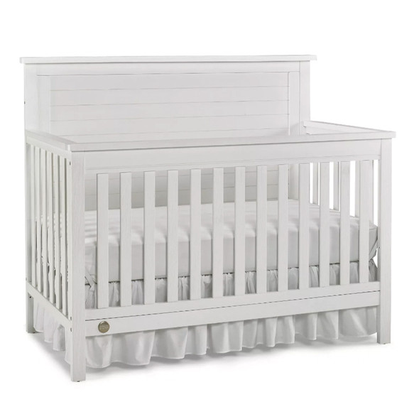 Fisher Price Quinn Full Panel Convertible Crib in Weathered White