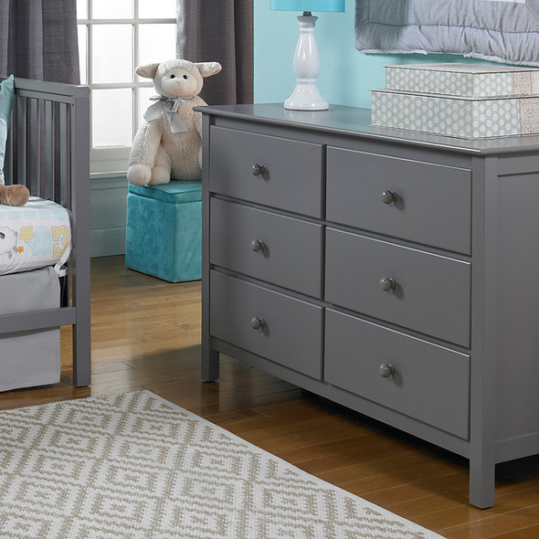 Fisher Price Double Dresser in Stormy Grey