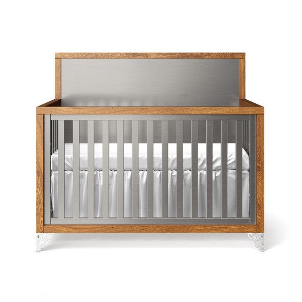 Romina Pandora Collection Convertible Crib in Argento