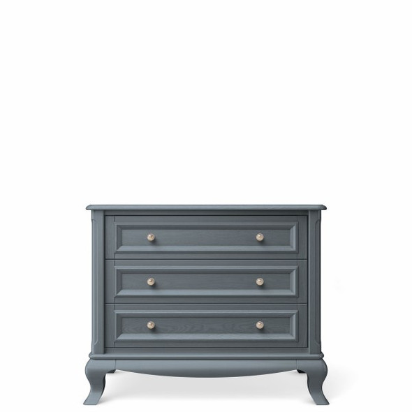 Romina Antonio Collection 3 Drawer Chest in Washed Grey