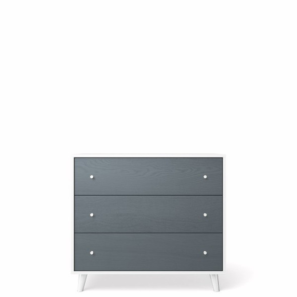 Romina New York 3 Drawers Dresser in Washed Grey