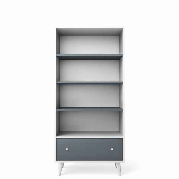 Romina New York Bookcase in Solid White