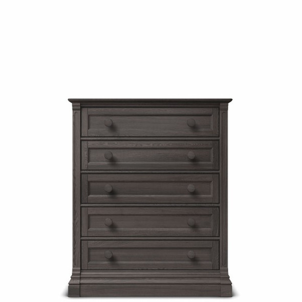 Romina Imperio Collection 5 Drawer Chest in Oil Grey