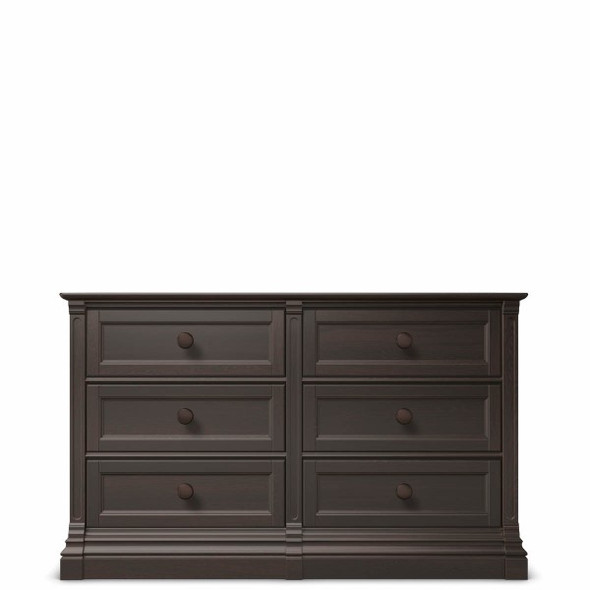 Romina Imperio Collection 6 Drawer Dresser in Bruno Rosso