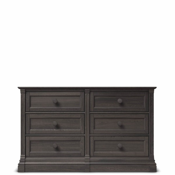 Romina Imperio Collection 6 Drawer Dresser in Oil Grey