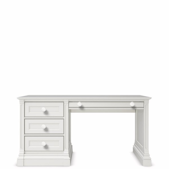 Romina Imperio Collection Desk in Solid White
