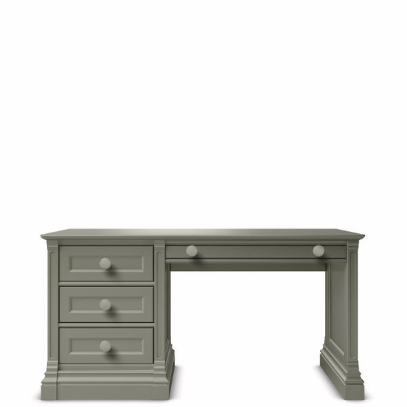 Romina Imperio Collection Desk in Vintage Grey