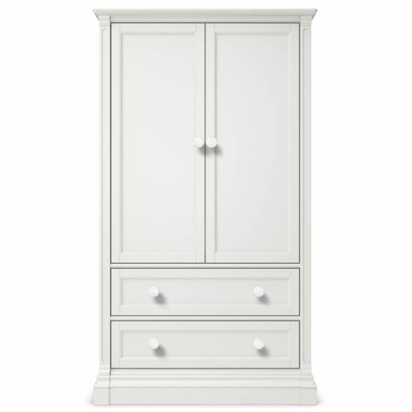 Romina Imperio Collection Armoire in Solid White