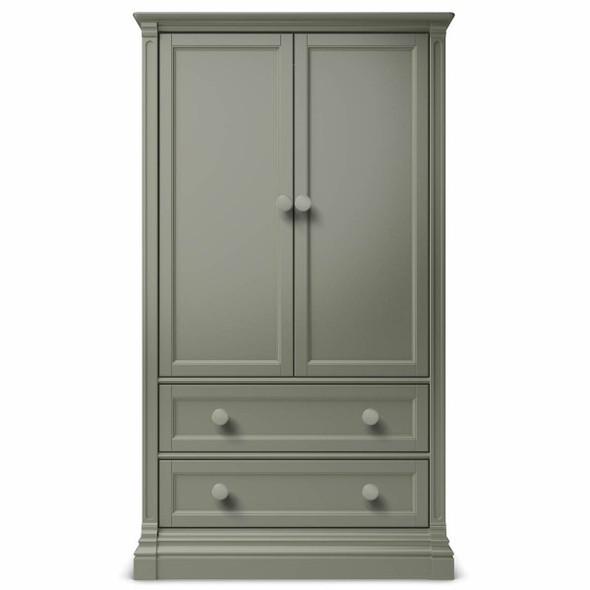 Romina Imperio Collection Armoire in Vintage Grey