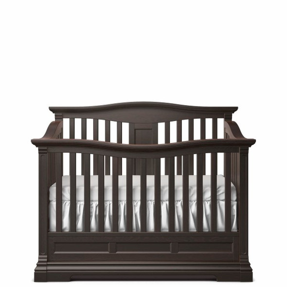 Romina Imperio Collection Convertible Crib in Bruno Rosso