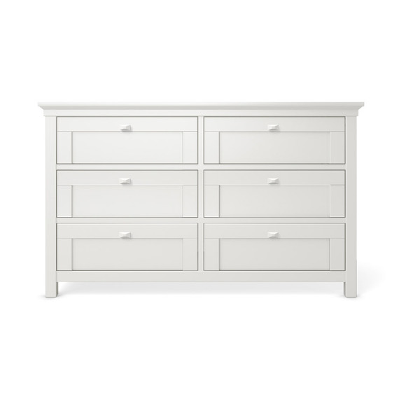 Romina Karisma Collection Double Dresser in Solid White