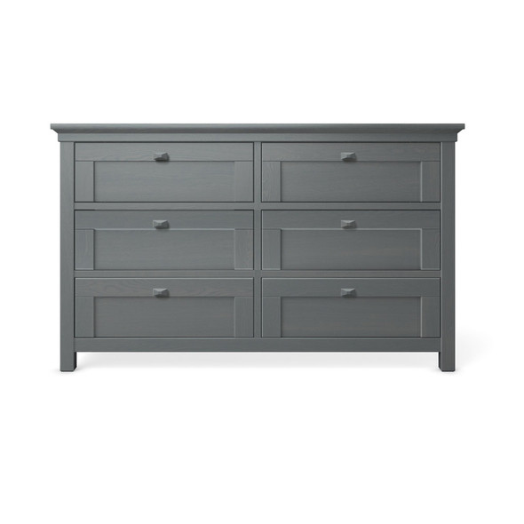 Romina Karisma Collection Double Dresser in Washed Grey