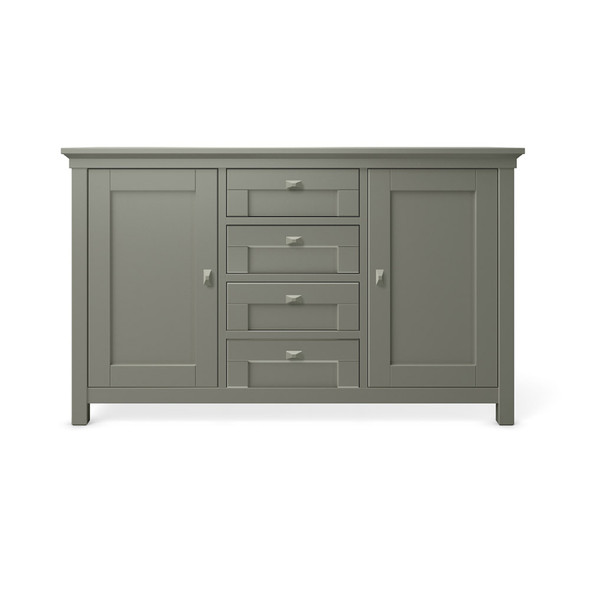 Romina Karisma Collection 4 Drawer Baby Station in Vintage Grey