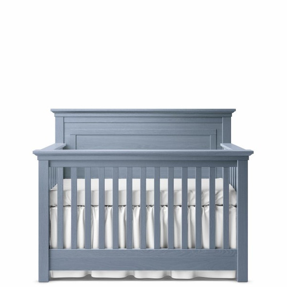 Romina Karisma Collection Convertible Crib with Full Panel in Storm